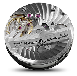 Maurice Lacroix - Movements - Masterpiece Retrograde Calendar